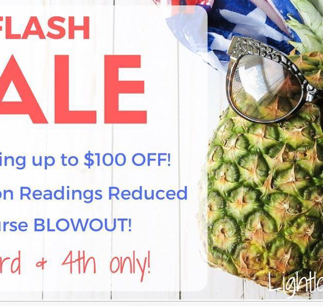 FLASH SALE!!!! Today through tomorrow only!!! Readings discounted all mentoringhellip