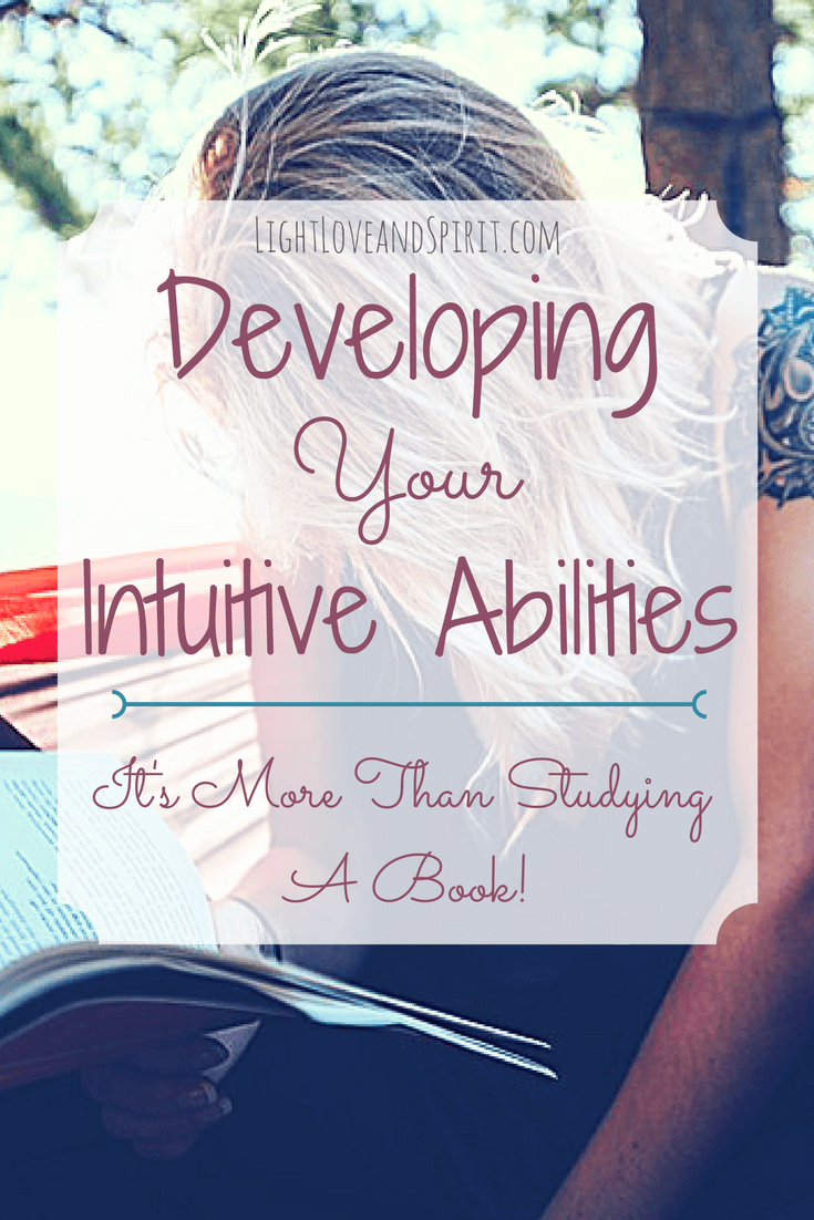 Developing Intuitive Abilities, It's More Than Studying A Book