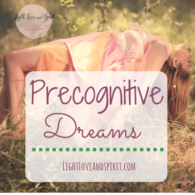 I Have Precognitive Dreams
