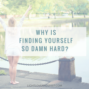 Why Is Finding Yourself So Damn Hard?